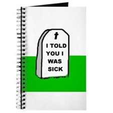 I WAS SICK Journal