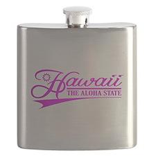 Hawaii State of Mine Flask
