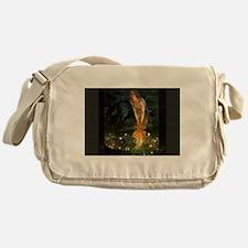 Fairy Circle Fairies Midsummer Eve Messenger Bag