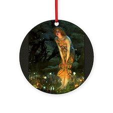 Fairy Circle Fairies Midsummer Eve Ornament (Round
