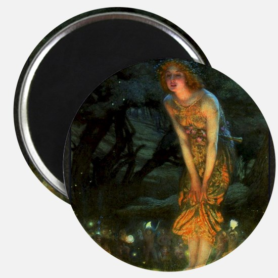 Fairy Circle Fairies Midsummer Eve Magnets