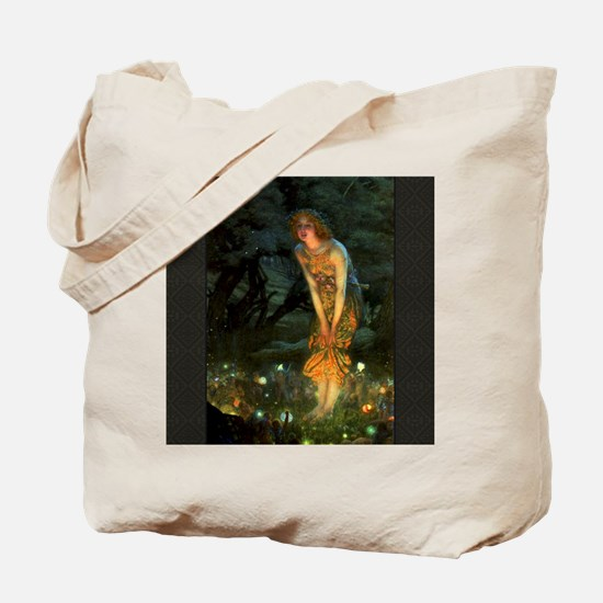 Fairy Circle Fairies Midsummer Eve Tote Bag