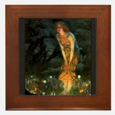 Fairy Circle Fairies Midsummer Eve Framed Tile