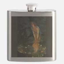 Fairy Circle Fairies Midsummer Eve Flask