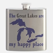 Great Lakes Happy Place Flask
