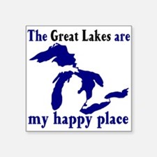 Great Lakes Happy Place Sticker