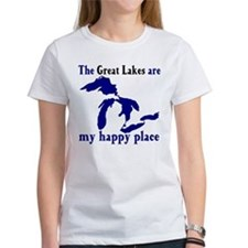 Great Lakes Happy Place T-Shirt