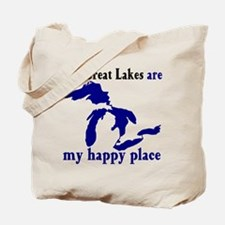 Great Lakes Happy Place Tote Bag