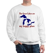Great Lakes Happy Place Sweatshirt
