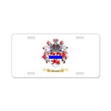 Gannon Aluminum License Plate