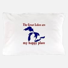Great Lakes Happy Place Pillow Case