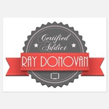 Certified Ray Donovan Addict Invitations