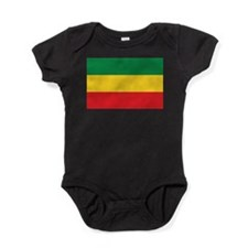 Green, Gold and Red Flag Baby Bodysuit