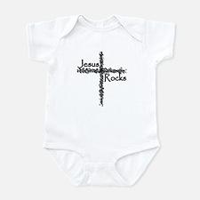 Jesus Rocks Infant Creeper
