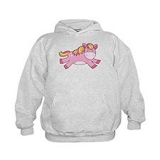 Pink Prancing Pony Hoodie