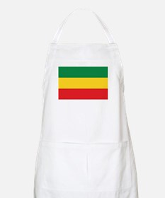 Green, Gold and Red Flag Apron