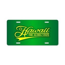 Hawaii State of Mine Aluminum License Plate
