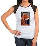 Fox Cub Women's Cap Sleeve T-Shirt