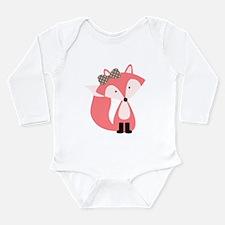 Cute Pink Fox Body Suit
