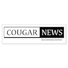 Cougar News Bumper Bumper Sticker