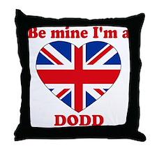 Dodd, Valentine's Day Throw Pillow