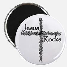 Jesus Rocks Magnet