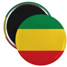 Green, Gold and Red Flag Magnets