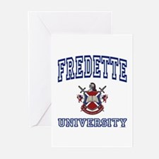 FREDETTE University Greeting Cards (Pk of 10)