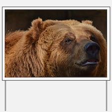 Kodiac Bear Yard Sign