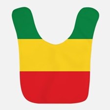 Green, Gold and Red Flag Bib