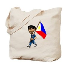 Philippines Boy Tote Bag