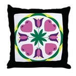 Love and Happy Home Throw Pillow