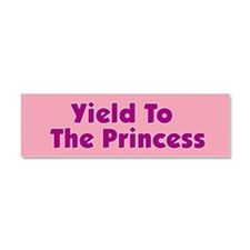 Cute Princess Car Magnet 10 x 3