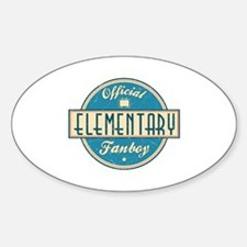 Offical Elementary Fanboy Oval Decal
