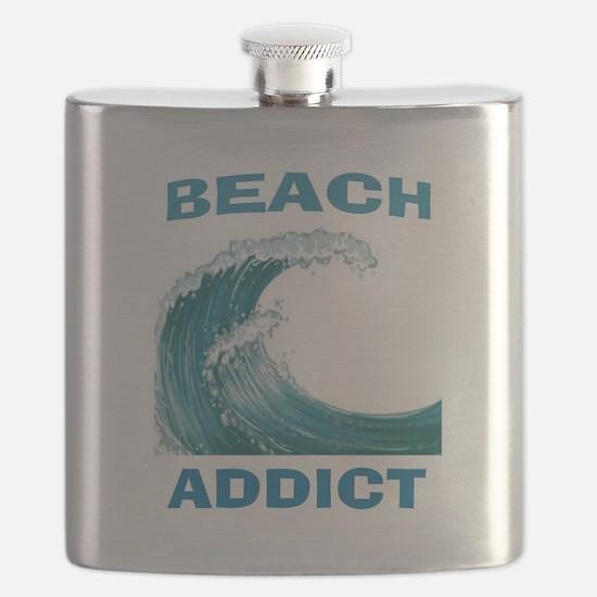 BEACH ADDICT Flask