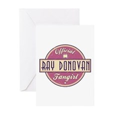 Offical Ray Donovan Fangirl Greeting Card