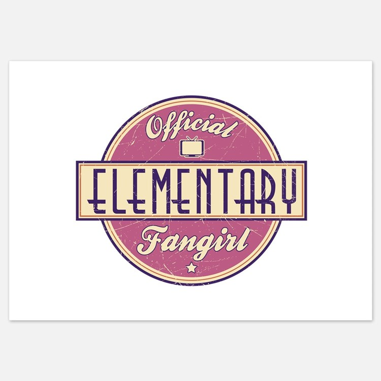 Offical Elementary Fangirl Invitations