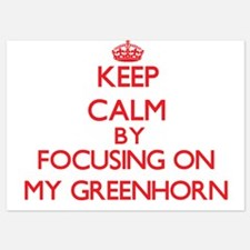 Keep Calm by focusing on My Greenhorn Invitations