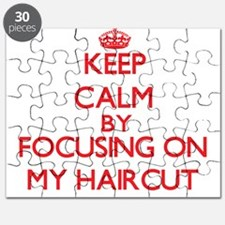 Keep Calm by focusing on My Haircut Puzzle
