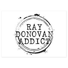 Ray Donovan Addict Stamp Invitations