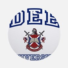 DEE University Ornament (Round)