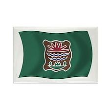 Abenaki Tribe Flag Rectangle Magnet (100 pack)