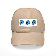 Skull Earth Baseball Cap