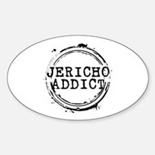 Jericho Addict Stamp Oval Decal