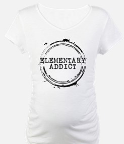 Elementary Addict Stamp Shirt