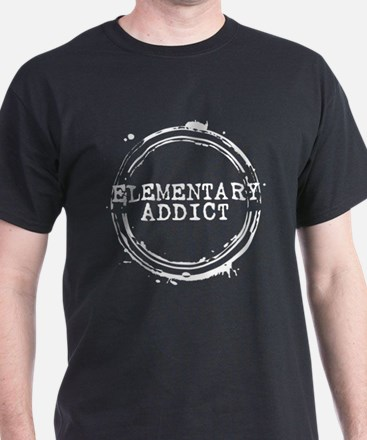 Elementary Addict Stamp T-Shirt