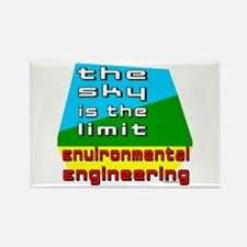 Environmental Engineering Rectangle Magnet (100 pa