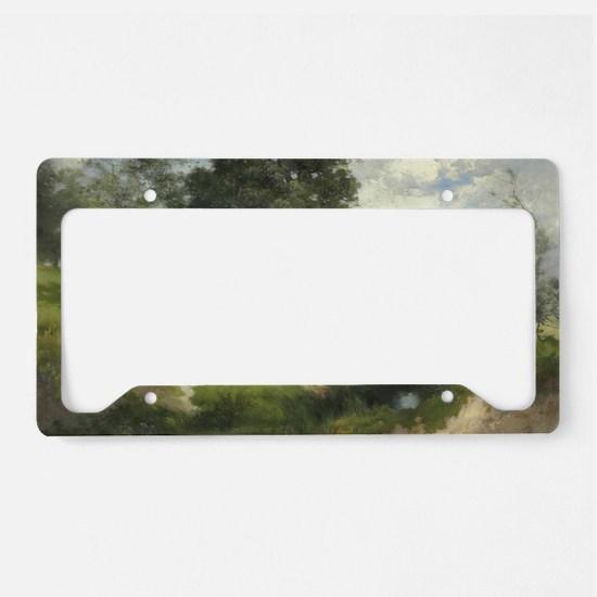 Cute Hillside License Plate Holder