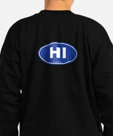 Hawaii HI Euro Oval Sweatshirt