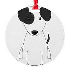 Cartoon Jack Russell Terrier Ornament